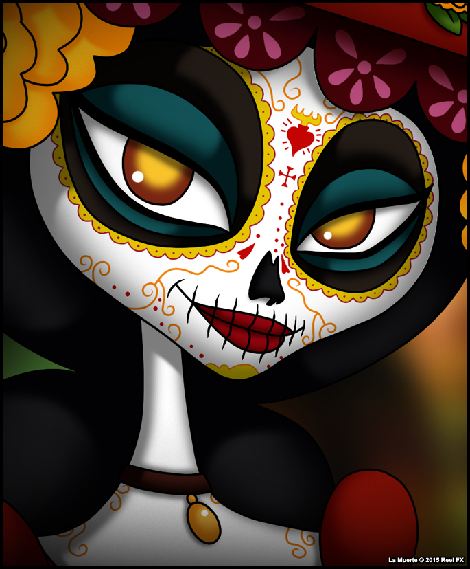 La Muerte From Book Of Life Details Full Size